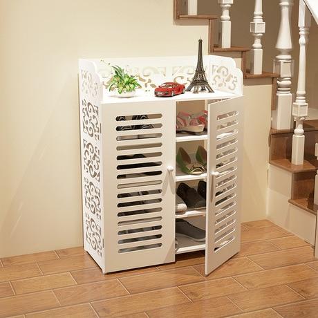 Gabinetes de zapatos zapatero conjunto de muebles de sala for Muebles para colocar zapatos