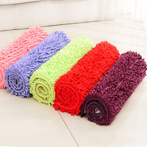 Image 2 - Large Size 60*90cm/70*140cm Cheap Thicken Chenille Bath Mat, Bathroom Rug Carpet for Living Room Floor Mat Tapete De Banheiro