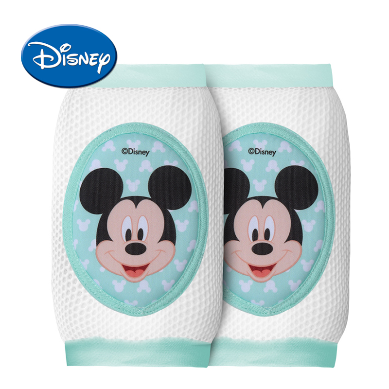 Disney Toddler Kneepad Soft Thicken Non-Slip Safety Crawling Protector Cotton Elastic Baby Leg Warmers Baby Accessories