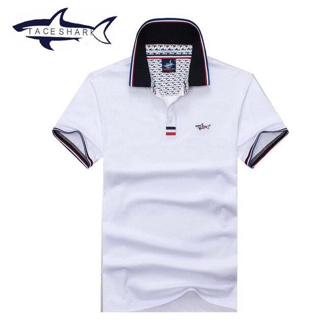 Neue Marke Kleidung Tace Shark Fashion Herren Polo Shirt Camisa