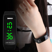 SKMEI 1119 Men Wome LED Digital Watch Date Time Outdoor Ladies Sports Watches Male Female Wristwatch Relogio Masculino Femenino(China)