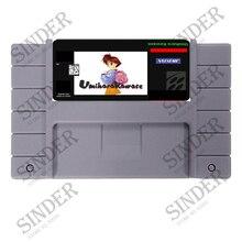 Umihara Kawase 16 bit Super Game Card For NTSC USA Game Player