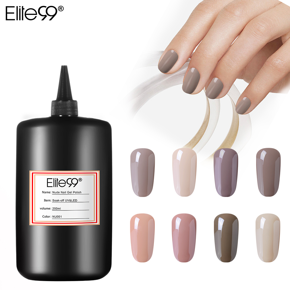 Elite99 vernis à ongles 250ml Gel vernis à ongles vernis UV vernis manucure 24 couleurs pures