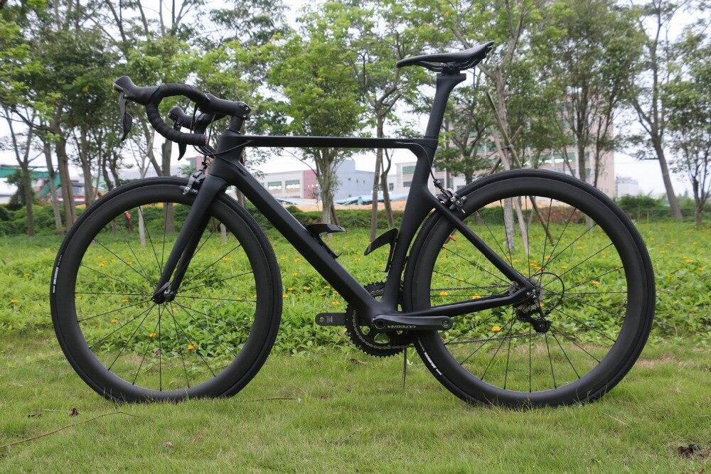 TT-X1 SERAPH  700C Carbon Fiber Road Bike Complete Bicycle Carbon Cycling BICICLETTA Road Bike SHIMANO 6800 22 Speed Bicicletta