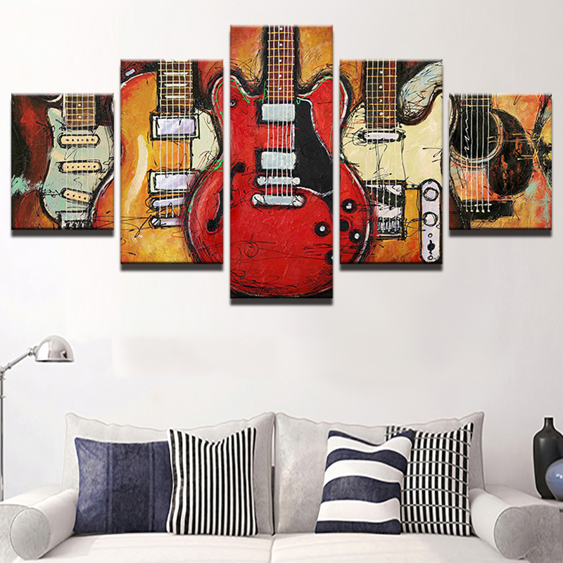 Home, Print, Music, Vintage, Room, Wall