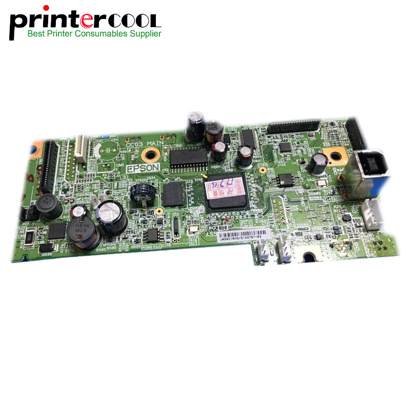 einkshop Used Formatter PCA ASSY for Epson L355 L358 355 358 Printer Formatter Board Main Board MainBoard mother board колготки cinema by opium lux 40den 2 daino