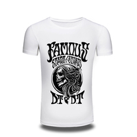 T Shirt Top Fashion Brand Clothing Japanese Skull Print T Shirt Printed Casual Style Tshirt Men