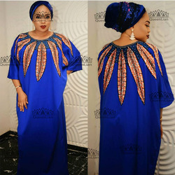 2018 neue mode elastische kleider für frauen/dame Elegant Elastische Kleid Afrikanische Traditionelle Print Kleider (CPYZ #)