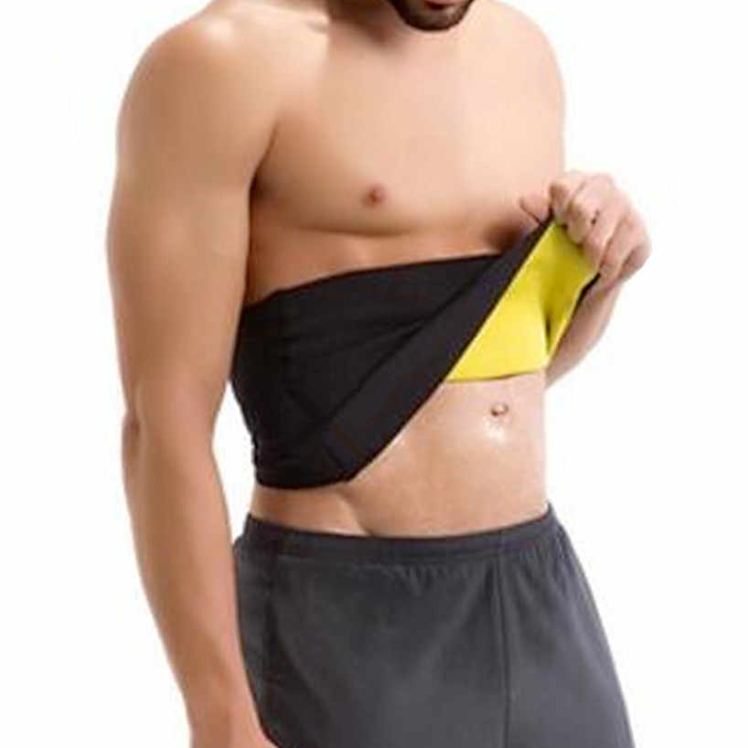b844e40229 ... Hot Sale Shapers Waist Trimmer Slimming Belt Men s Compression Body  Shaper Girdle Natural Weight-Loss ...