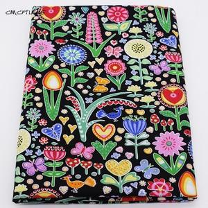 Patchwork Floral Print Baumwolle Stoff Tissus Für DIY Quilten Nähen Stoff Textil Von Baby Puppe Tuch Kleid Vorhang Material