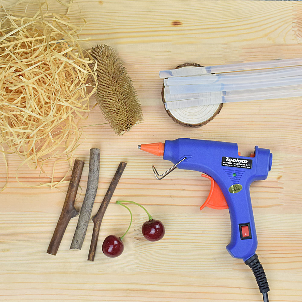 Tools Aspiring Jelbo Hot Melt Glue Gun 60w Fast Heating Soldering Glue Gun Stick Industrial Diy Electric Heat Thermo Temperature Hand Tool Kit