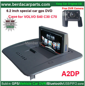 Multimedia Radio GPS Navigation car Stereo Special for VOLVO S40,C30,C70 +Keep original CD all functions+free SD card with map