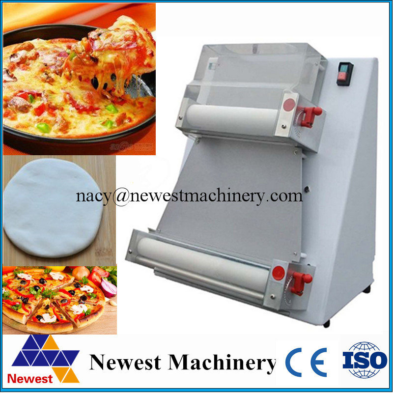 Electric stand stainless steel pizza dough roller machine ...