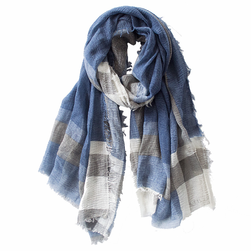 British Style Plaid Men Scarf Winter 2019 Fashion Classical For Men And Woman Imitation Cashmere Scarves Tassel