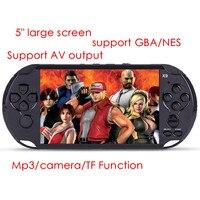 5 cal 8G odtwarzacz przenośny Handheld Konsoli Do Gier Z mp3/mp4 kamera TV Out TF 300 gry Konsola Gier Wideo darmo wysyłka