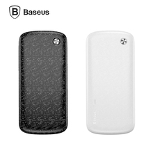 Baseus 10000mAh Power Bank Dual Input15mm thin Powerbank Portable External Battery Charger For iPhone and Tablet PC mobile power