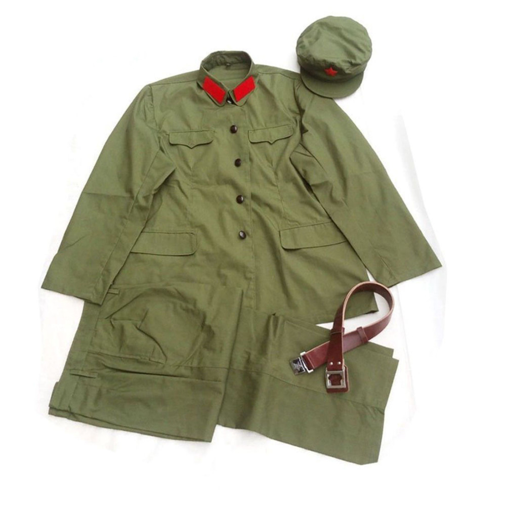 CHINESE ARMY PLA COMMUNIST PARTY TYPE 65 CULTURAL REVOLUTION ERA MILITARY UNIFORM World military Store