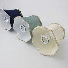 Красивый темно-синий цвет Абажуры для настенной лампы или люстры абажуры DIY, E14 отверстие 3 см