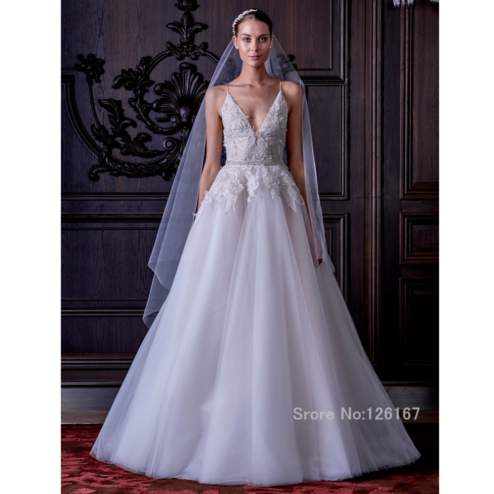 High quality new arrival wedding dresses sexy backless v for Wedding dress cuts