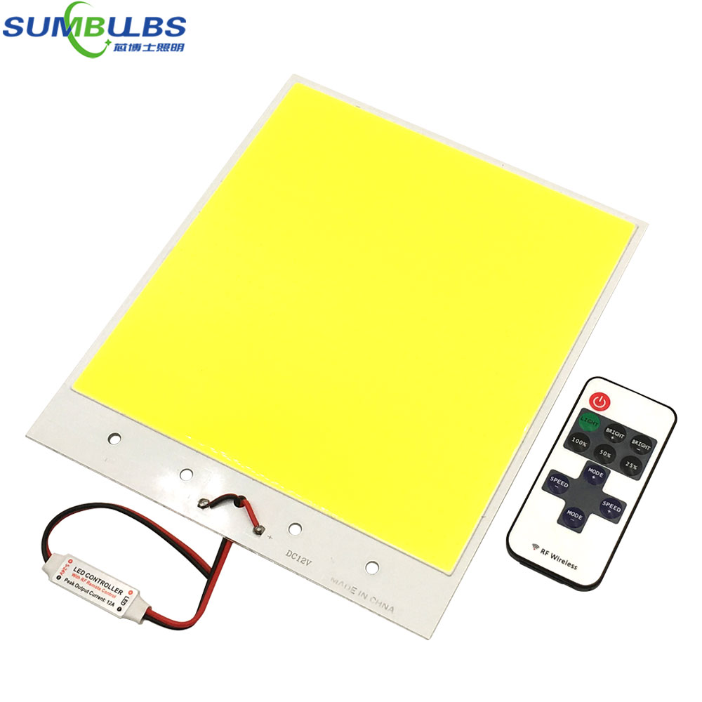 Ultra Bright 12V LED Panel Light Flip Chip COB Bulb with Dimmer max 300W DC12V for DIY Car Lighting Outdoor Lamp 6500K White washi tape set 19 anchor sea nautical ocean sailor naval sailing stationery planner supply journal decorative masking gift wrap