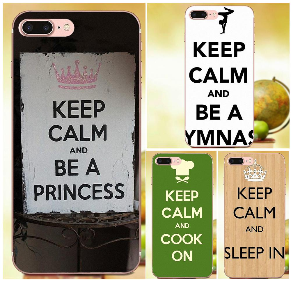 f423e1b7c Keep Calm And Cheer On Lovely For Xiaomi Mi6 Mi 6 A1 Max Mix 2 5X 6X Redmi  Note 5 5A 4X 4A A4 4 3 Plus Pro TPU Call Box