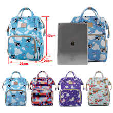 USB Diaper Bag 4pcs Set Nappy Bag Waterproof Maternity Travel Backpack Designer Nursing Bag Baby Care Stroller Printing Handbag