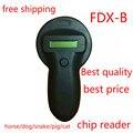 FDX-B Microchip animal de Estimação do Scanner, Animal Leitor RFID Tag leitor Handheld Leitor RFID de Baixa Frequência do animal de estimação com um animal chip livre