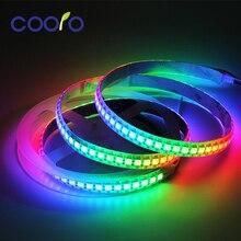 1m/5m WS2812B RGB LED Strip Light Flexible 30/60/144 pixels/leds/m Smart LED Tape, Black/White PCB, IP30/IP65/IP67 DC5V 5mx new arrival sk9822 5050smd rgb digital flexible led strip light dc5v input 30 32 48 60 72 144led m black pcb free shipping