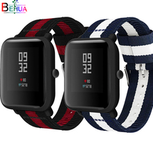 20mm Nylon sport strap watchband For Huami Amazfit Bip youth smart watch Replacement Comfortable wristband watch band Strap 20mm nylon sport strap watchband for huami amazfit bip youth smart watch replacement comfortable wristband watch band strap