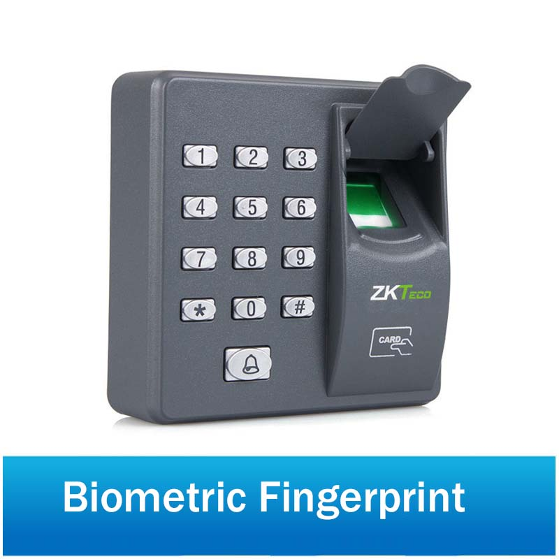 Access Control Office Use Waterproof Biometrics Fingerprint Access Control Keypad Reader With Backlight Led Touch Exit Button Dependable Performance Security & Protection