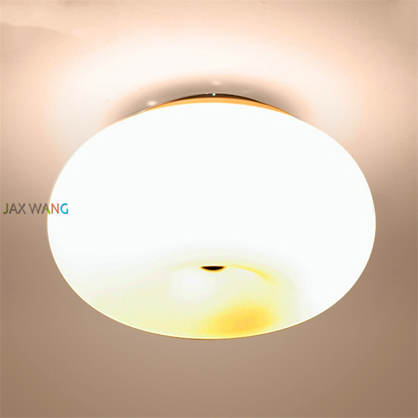 Simple modern ceiling lamp corridor round glass cover lighting indoor kitchen led luminaire aisle balcony lighting fixturesSimple modern ceiling lamp corridor round glass cover lighting indoor kitchen led luminaire aisle balcony lighting fixtures