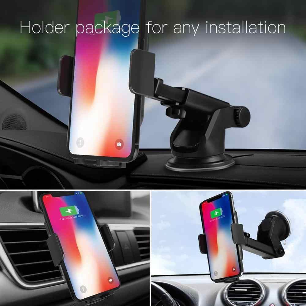 JAKCOM CH2 Smart Wireless Car Charger Holder Hot koop in als anillo para celular ondersteuning smartphone velo telefoon houder