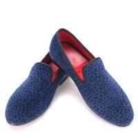 2017 Two Color Leopard Pattern Men Velvet Shoes Fashion Party And Wedding Men Dress Shoe Male