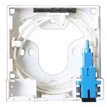 2 channels ODN FTTH 2 cores fiber Termination Box 2 ports fiber socket Splitter Box indoor outdoor fiber optical