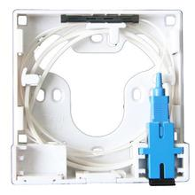 2 channels ODN FTTH cores fiber Termination Box ports socket Splitter indoor outdoor optical