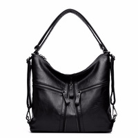Big Size Luxury Women Shoulder Bag Multifunction Women Back Pack Tote Bags Women S Genuine Leather