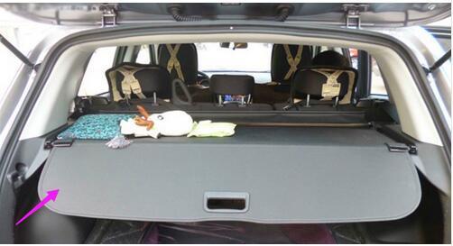 for Outlander Sport 2013 2014 2015 Black Rear Trunk cargo cover security shade For Mitsubishi ASX/ car rear trunk security shield shade cargo cover for mitsubishi asx 2013 2014 2015 2016 black beige