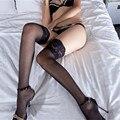 Чулки medias мода Кружева прозрачные сексуальные чулки гольфы носки чулки бедро высокие носки роль х сексуальное женское белье косплей