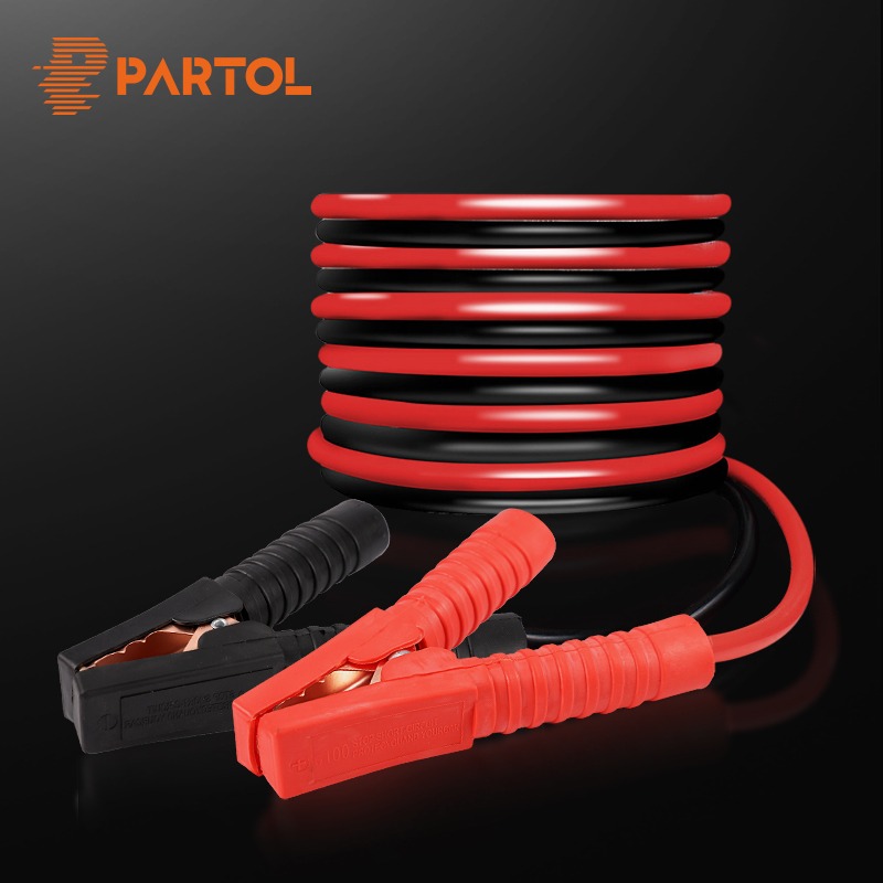 Partol 2M 3M 1000A 1800A Battery Jump Cable Pure Copper Emergency Power Charging Jump Start Leads Car Van Battery Booster Cable
