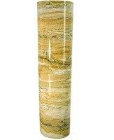 צהוב בציר רוק מגע נייר דבק עצמי ויניל מדבקות מדבקה עמיד למים