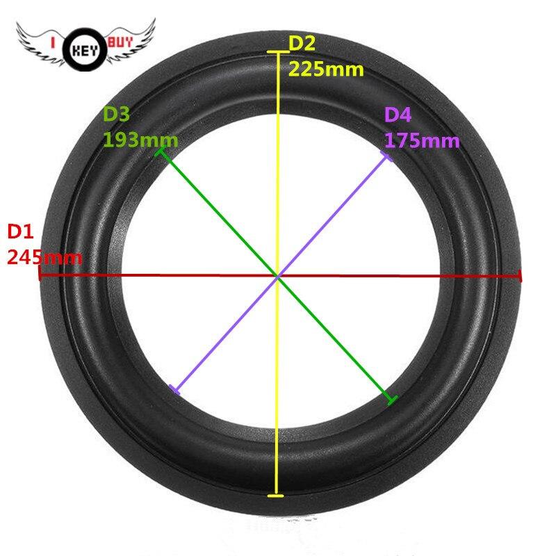 "2pcs 6.5/"" inch Car Loudspeaker Speaker Gasket Subwoofer Gasket Ring Repair Parts"