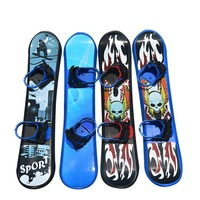 Outdoor Sports 95/110/128CM Plastic Freestyle Single Board Two way Snow Grass Sand Board for Children & Adults