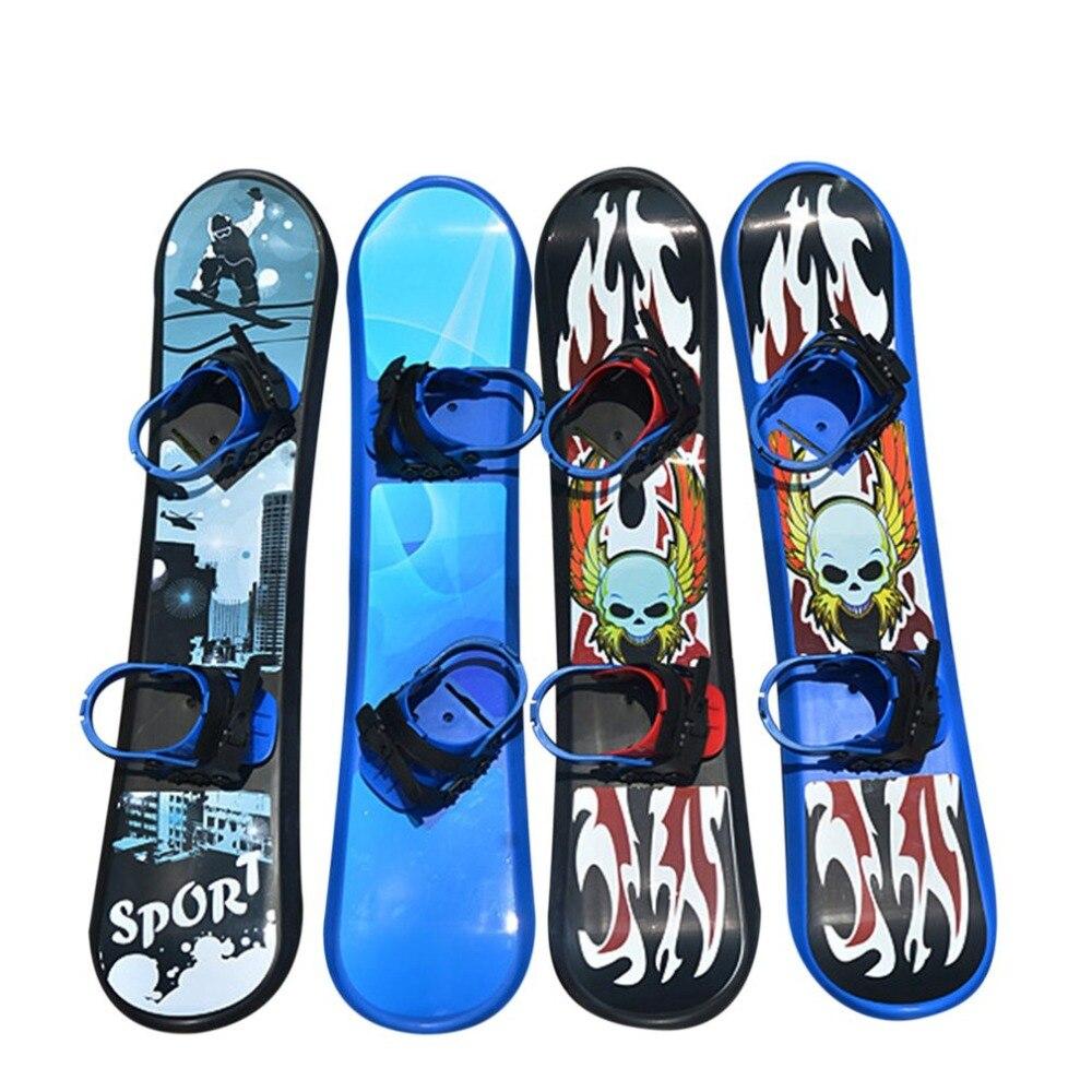 Sports de plein air 95/110/128 CM plastique Freestyle planche simple bidirectionnelle neige herbe sable planche pour enfants et adultes