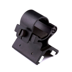 Image 2 - VASTFIRE Umfang Montieren Starke Military Dual Magnetische X Taktische Taschenlampe Waffe Gun Halterung Olight X WM02 DIY 23 26mm durchmesser
