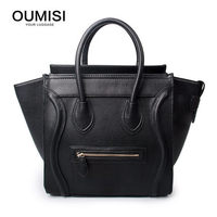 Crossbody Shoulder Tote Bag Large SIZE New Women Luxury Classic Designer Celebrity Smile Face Smiley Handbag BK