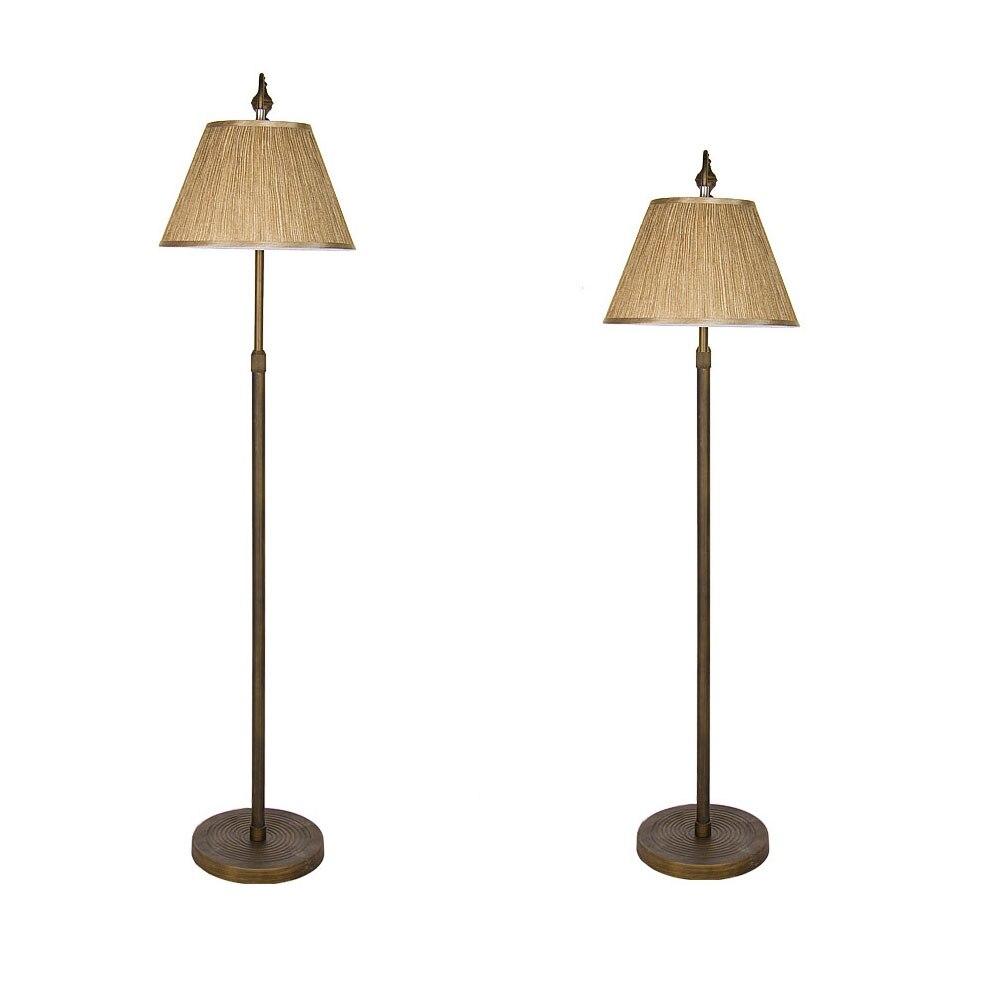 Hohe Qualitt Stoff Lampenschirm Eisen Stehlampen Fr Wohnzimmer 110 V 220 E27 Lampe Nordic