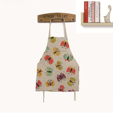 2017 Lovely Cooking Apron Funny Novelty BBQ Party Apron Naked Men Women Butterfly Cheeky Kitchen Cooking Apron Delantal Cocina