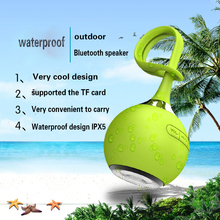 Outdoor sports wireless bluetooth small speaker portable waterproof bicycle riding sound box subwoofer f audio MP3 sound speaker