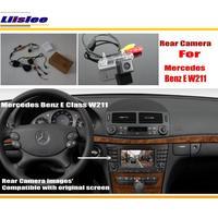 Car Back Up Reverse Camera For Mercedes Benz E W211 E280 E300 E320 / Rear Parking Camera & Original Screen Compatible