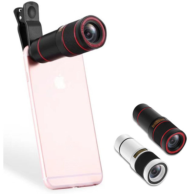 Galleria fotografica 14X Optical Zoom Telephoto Lens No Dark Corners Mobile Phone Camera Telescope lens for iPhone 6 7 Samsung smartphone